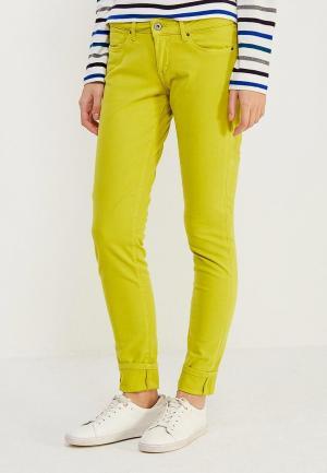 Брюки Pepe Jeans. Цвет: зеленый
