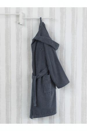 Банный халат Marie claire. Цвет: серый