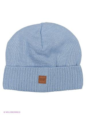 Шапка Agbo. Цвет: синий, голубой