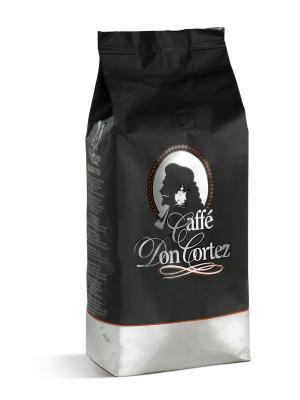 Don Cortez Black 1 кг кофе в зернах CARRARO. Цвет: коричневый