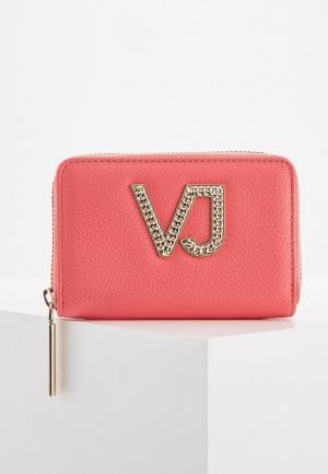 Кошелек Versace Jeans. Цвет: розовый