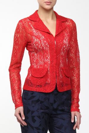 Жакет M&L Collection. Цвет: красный