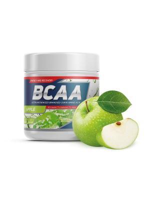 Аминокислоты BCAA 2:1:1 (яблоко) 250 гр GENETICLAB. Цвет: белый