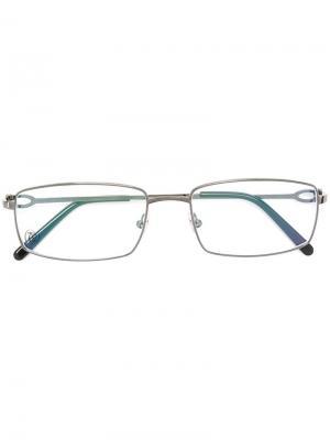 Оптические очки Décor C Cartier. Цвет: чёрный