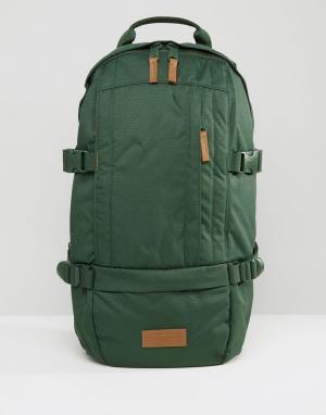 Eastpak Рюкзак цвета хаки Floid. Цвет: зеленый