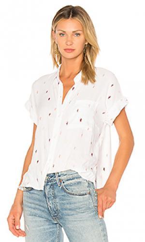 Рубашка whitney Rails. Цвет: белый