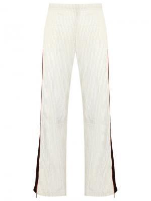 Flare trousers Reinaldo Lourenço. Цвет: белый