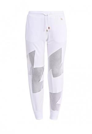 Брюки спортивные Versace Jeans. Цвет: белый