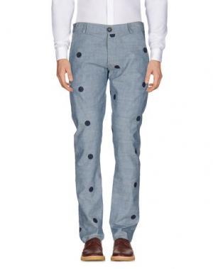 Повседневные брюки SOHO. Цвет: синий