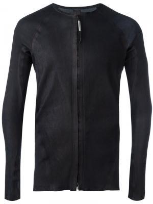 Куртка с панельным дизайном Isaac Sellam Experience. Цвет: чёрный