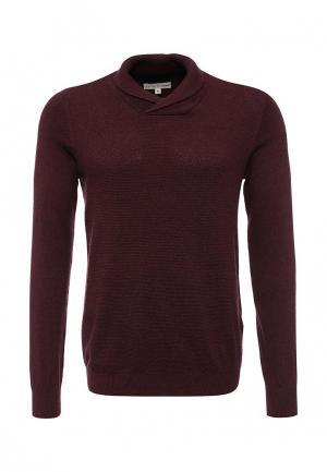 Пуловер Celio. Цвет: бордовый