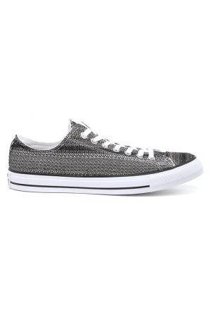 Полуботинки Converse. Цвет: серый