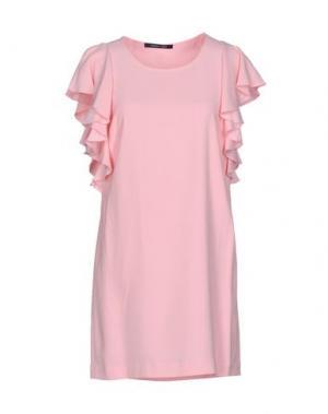 Короткое платье NAUGHTY DOG. Цвет: розовый