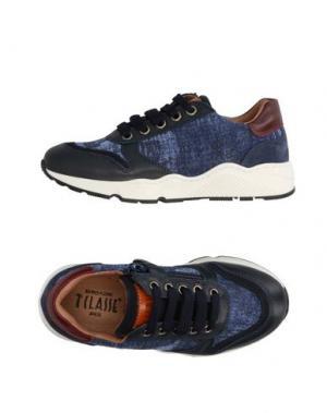 Низкие кеды и кроссовки ALVIERO MARTINI 1a CLASSE. Цвет: темно-синий