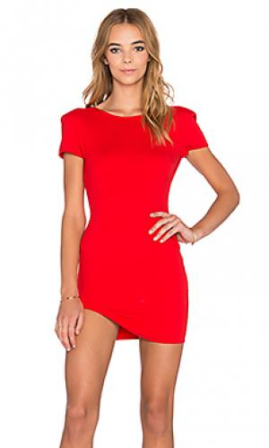 Мини платье sara RISE OF DAWN. Цвет: красный