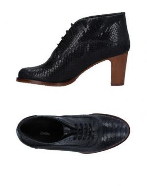 Обувь на шнурках ZINDA. Цвет: темно-синий