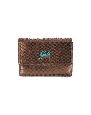 Бумажник GABS. Цвет: бронзовый