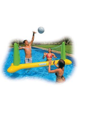 Надувная игрушка воллейбол для бассейна 239х64х91см Intex. Цвет: белый