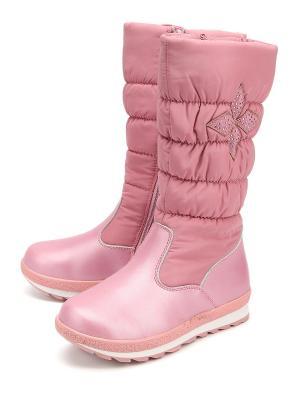Сапоги BI&KI. Цвет: розовый