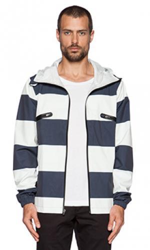 Облегченная куртка saul ourCASTE. Цвет: белый