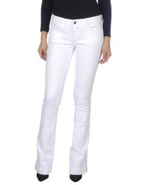 Джинсовые брюки KAOS JEANS. Цвет: белый