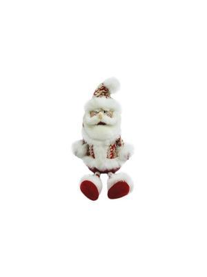 Кукла Дед Мороз 45 см, Новогодняя сказка. Цвет: красный