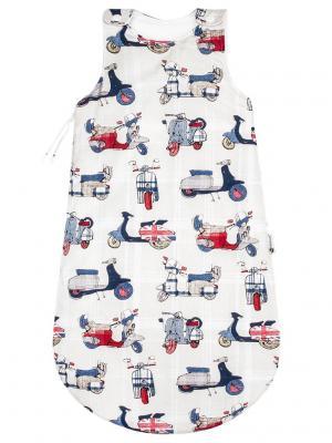 Спальный мешок Vespa MIKKIMAMA. Цвет: бежевый, красный, синий