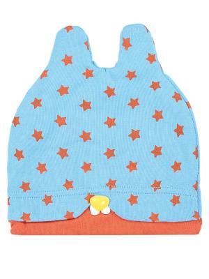 Шапка детская Ушки-star Оланж Ассорти. Цвет: бирюзовый