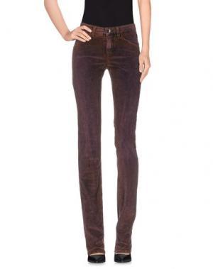 Повседневные брюки THEYSKENS' THEORY. Цвет: баклажанный