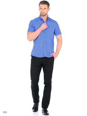 Рубашка мужская CARAT.. Цвет: синий