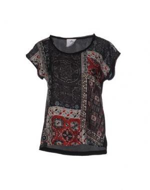 Блузка ANONYME DESIGNERS. Цвет: черный
