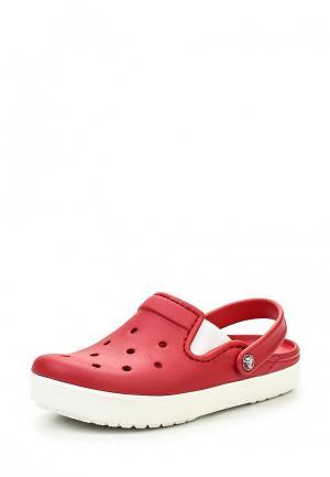 Сабo Crocs. Цвет: красный