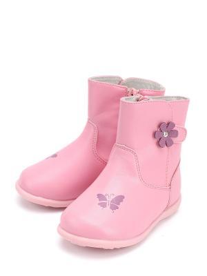 Полусапоги Антилопа. Цвет: розовый