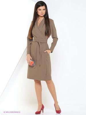 Платье Katerina Bleska&Tamara Savin. Цвет: бронзовый
