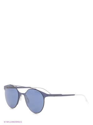 Солнцезащитные очки CARRERA. Цвет: синий