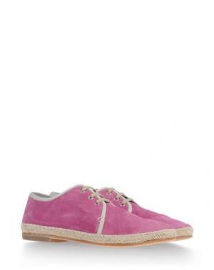 Эспадрильи N.D.C. MADE BY HAND. Цвет: пастельно-розовый