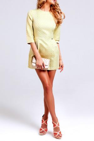 Платье BEZKO. Цвет: салатовый