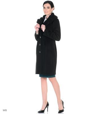 Пальто демисезонное Астра XP-GROUP. Цвет: черный