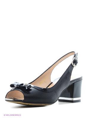 Босоножки Moda Donna. Цвет: черный