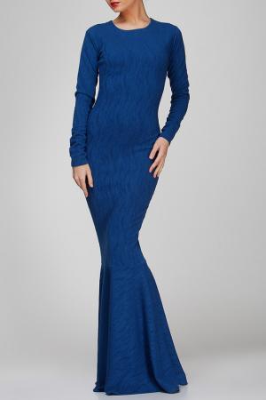 Платье BERENIS. Цвет: синий