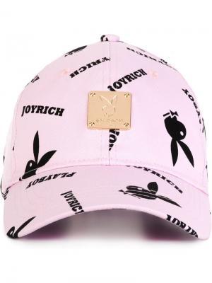 Кепка Playboy Joyrich. Цвет: розовый и фиолетовый