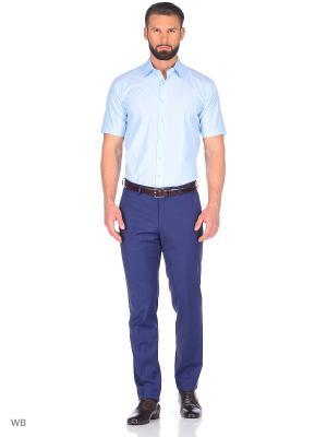 Рубашка мужская CARAT.. Цвет: бирюзовый