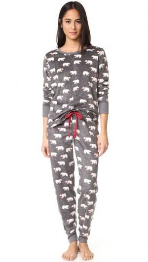 Пижама Polar Bear PJ Salvage. Цвет: серый