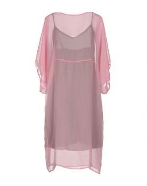 Короткое платье LAVINIATURRA. Цвет: розовый
