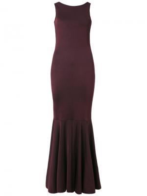 Knit gown Cecilia Prado. Цвет: красный