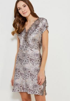 Платье домашнее Mia-mella. Цвет: серый