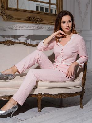 Пижама MIA-DIVA. Цвет: розовый