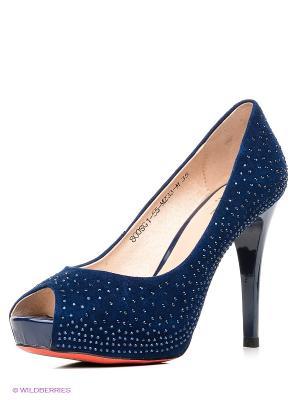 Туфли Sinta Gamma. Цвет: темно-синий