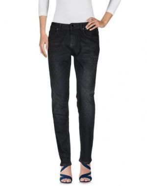 Джинсовые брюки MARIA GRAZIA SEVERI. Цвет: синий