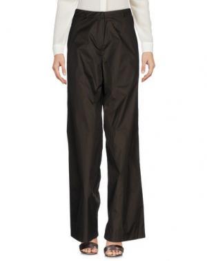 Повседневные брюки GERMANO ZAMA. Цвет: темно-зеленый